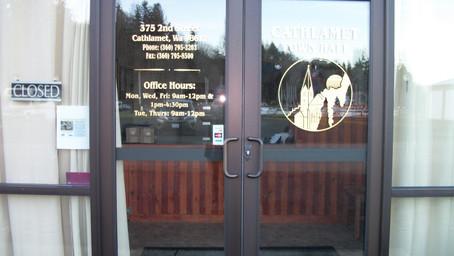 OFFICE CLOSURE & UTILITY UPDATE