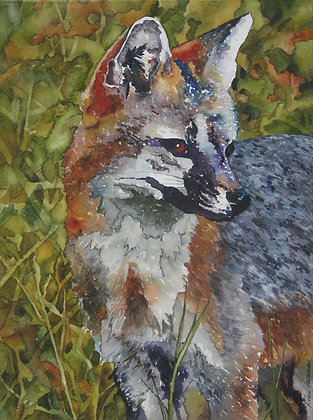 """Out Foxed 11"""" x 14"""""""
