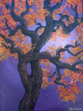 """Twisted Oak Purple 12"""" x 12"""""""