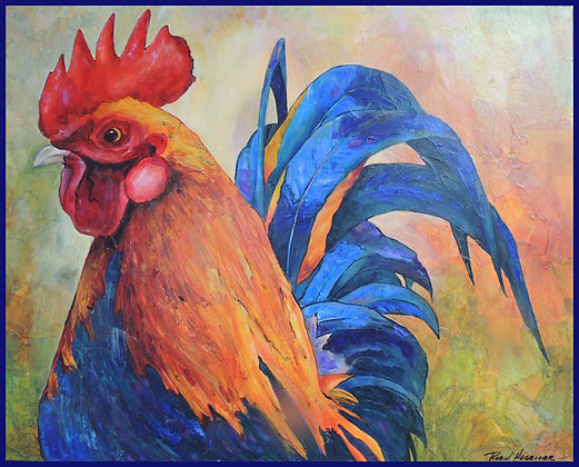 Top Of The Pecking Order 10 x 12 Giclee Pring