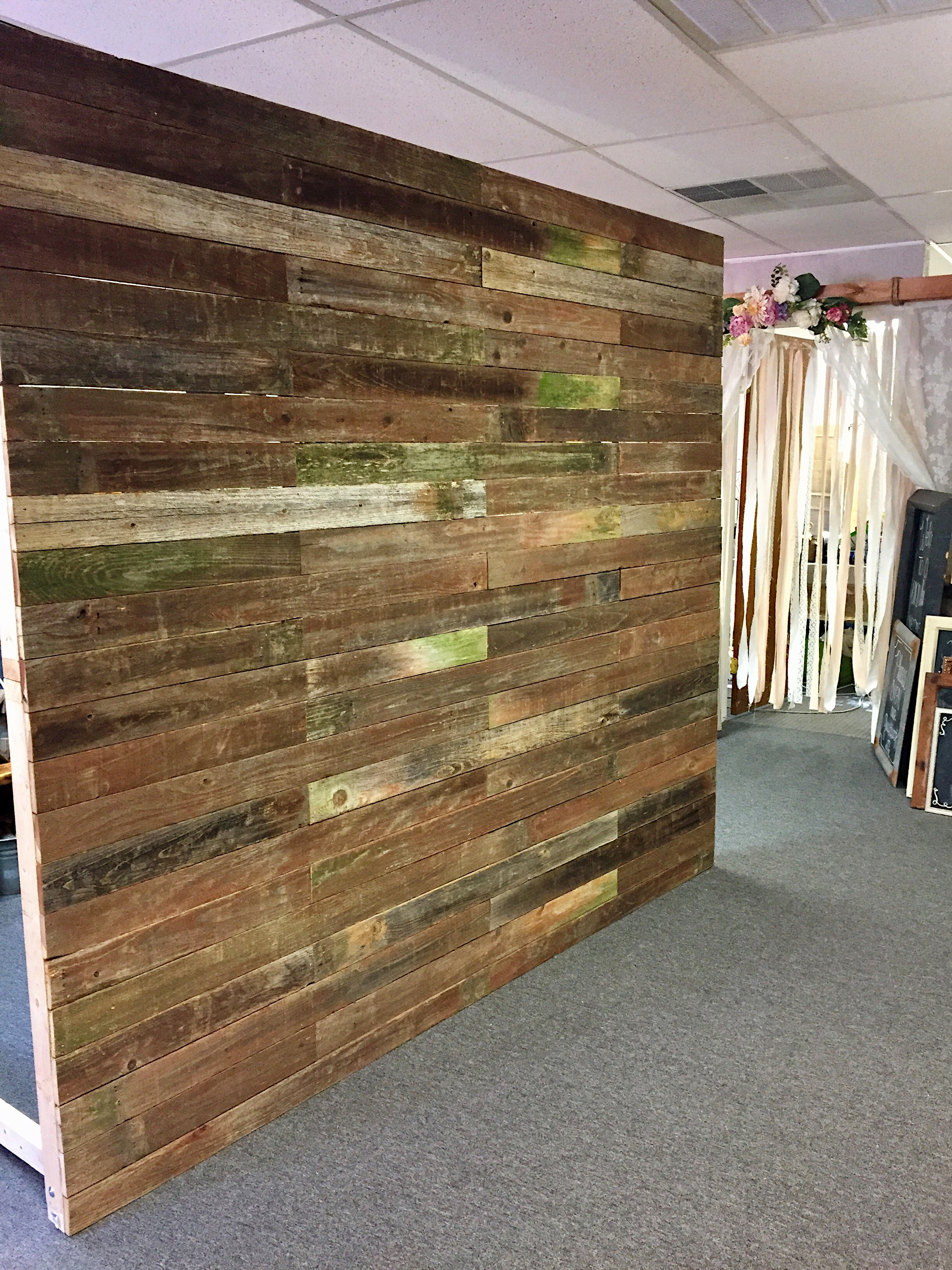 Reclaimed Wall