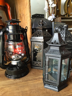 Stagecoach Candle Lanterns
