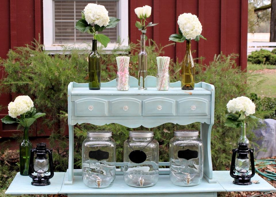 Mason Jar Beverage Dispensers