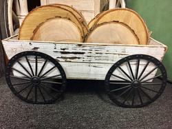 Small White Wagon