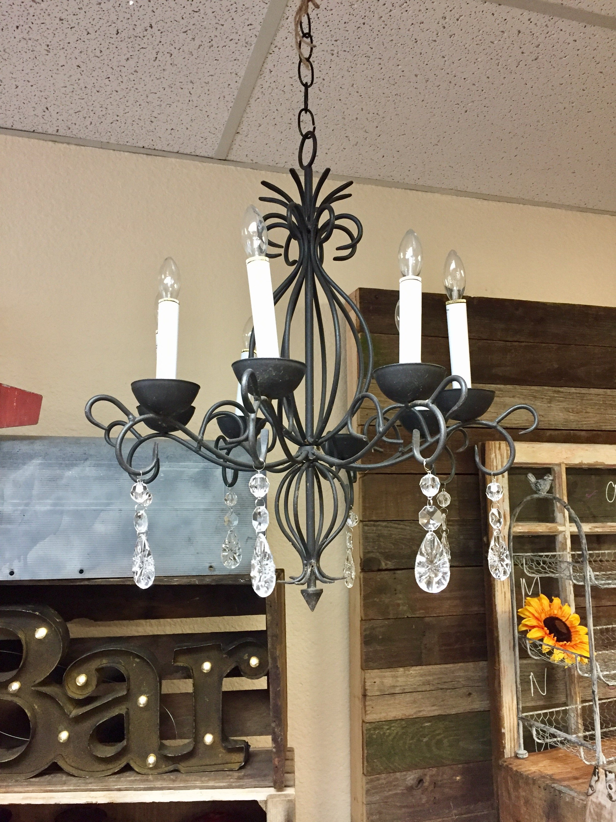 Rustic- Chic Chandelier