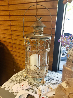 Bird Candle Lantern