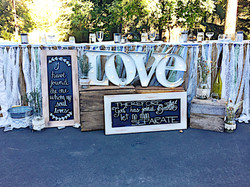 Large Love Marquee