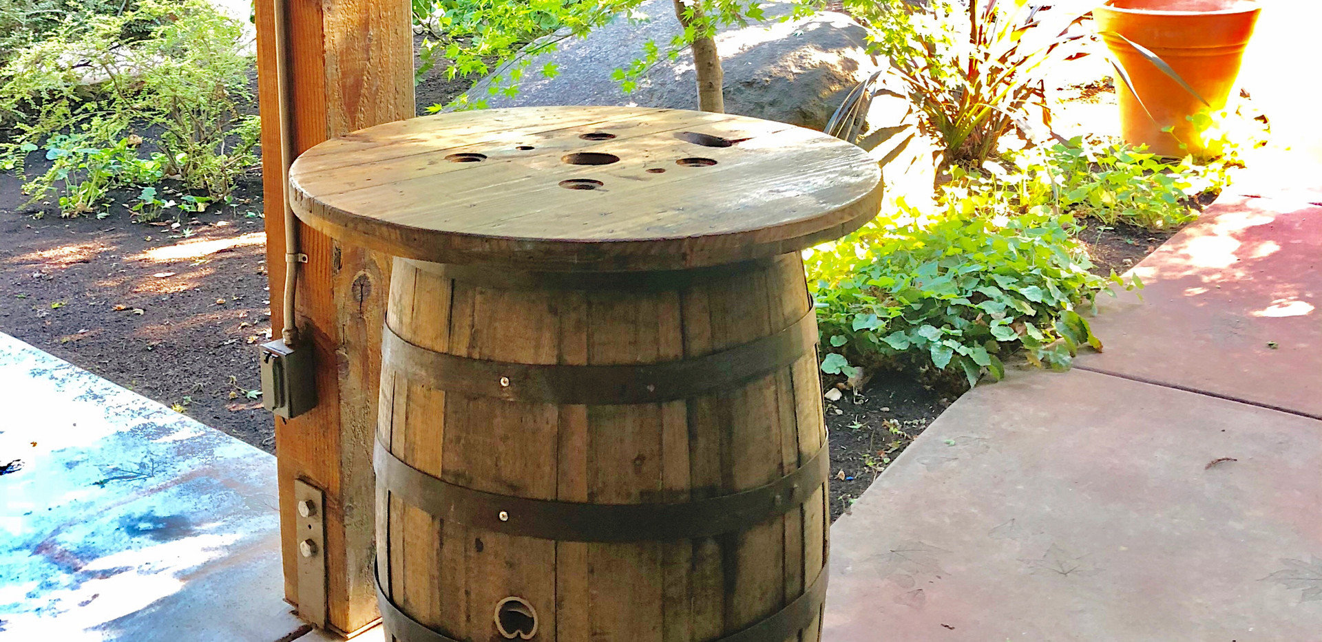 Cocktail Barrel