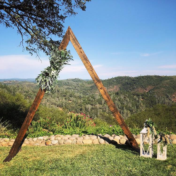 A-Frame Arbor