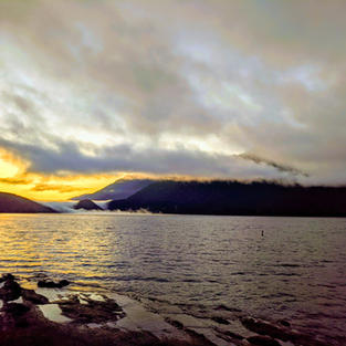 Lake Crescent Sunrise