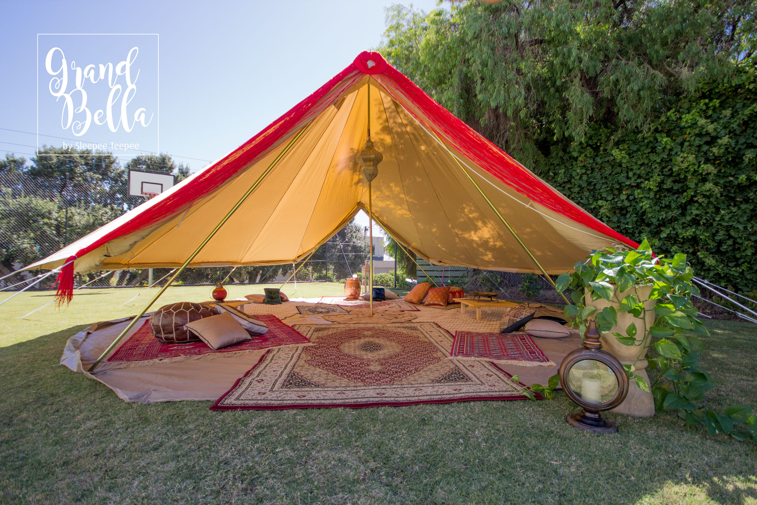 premium selection f95c5 6bb7d Grand Bella Bell Tent | Party Hire