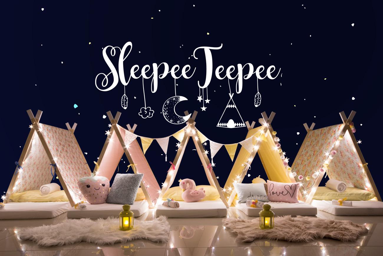 Sleepee Teepee The Ultimate Sleepover