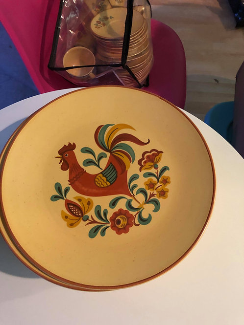 Rooster Dinnerware Set by Taylor