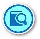icone de pesquisa de concorrencia