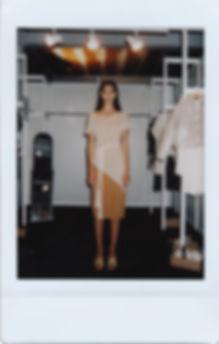 amt. brand dress barcelona backstage