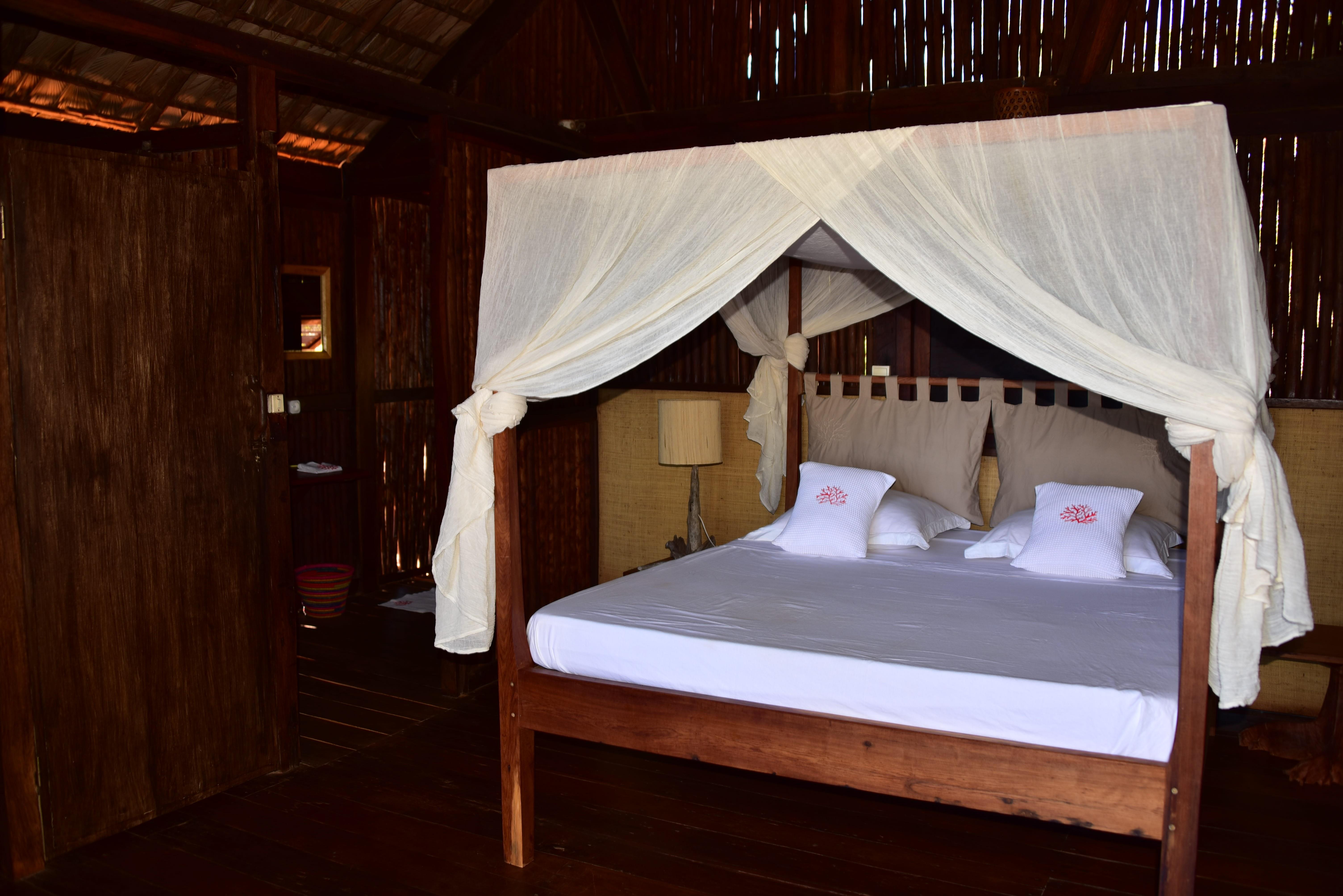 Chambre hôtel Majunga plage