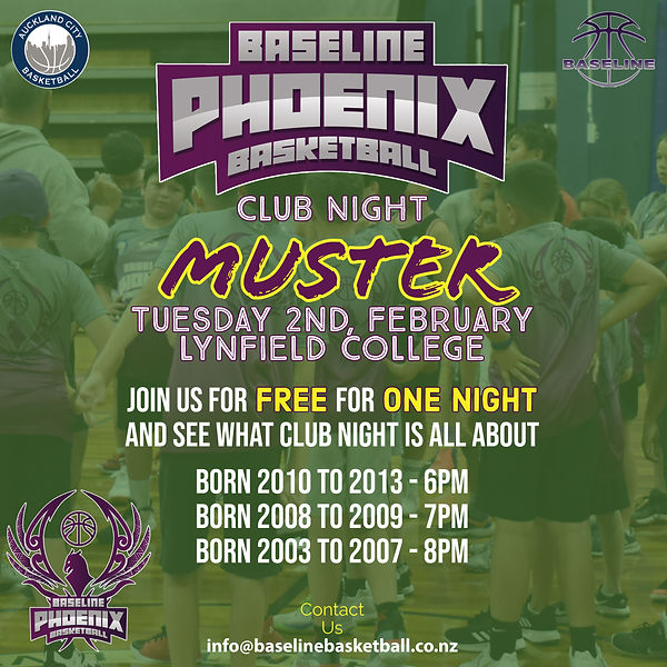 Club Night Muster - 2021 - Term 1 - Inst