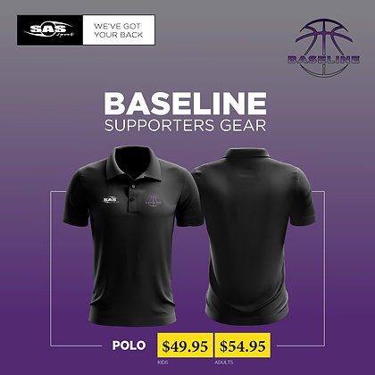 Baseline Basketball Limited - Supporters Polo - $49.95 to $54.95