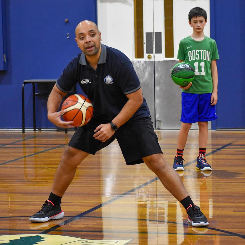 Baseline Phoenix Basketball - Train From Home - Ball Handling II [BASICS]