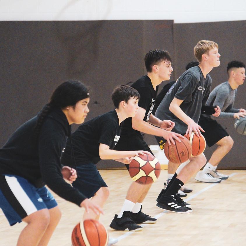 Baseline Phoenix Basketball - Train From Home - Ball Handling II [INTERMEDIATE & ADVANCE]