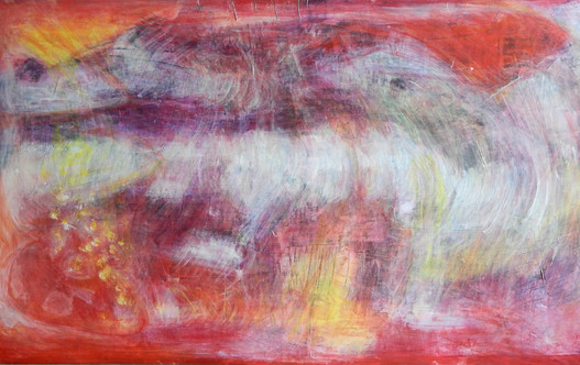 Untitled 2007 acrylic on wood 90x160 cm