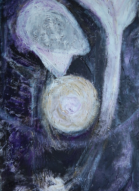 Untitled 2019 acrylic on canvas 120x80 cm