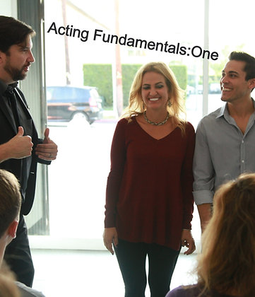 Fall: Acting Fundamentals: One