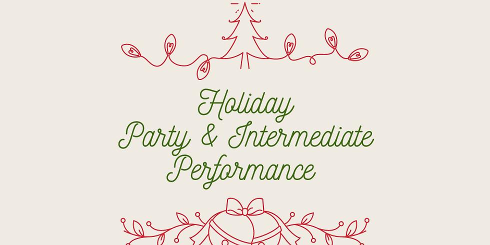 Intermediate Performance & Studio Party!