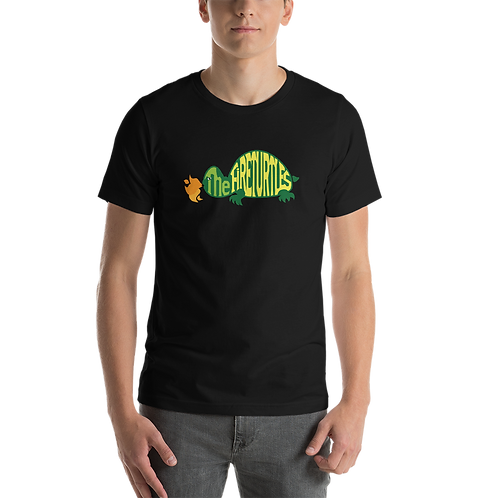 """""""The Fireturtles"""" Colorful logo with Colorful Short-Sleeve Unisex T-Shirt"""