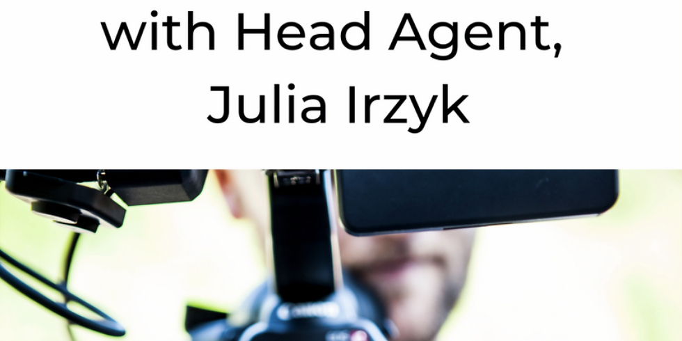 Comedy in Film and TV with Julia Irzyk | Industry Workshops | July 12th, 2-5pm