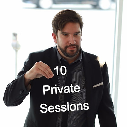 Ten Private Acting Sessions