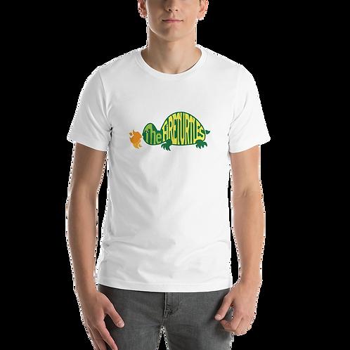 """The Fireturtles"" Colorful logo Short-Sleeve Unisex T-Shirt"
