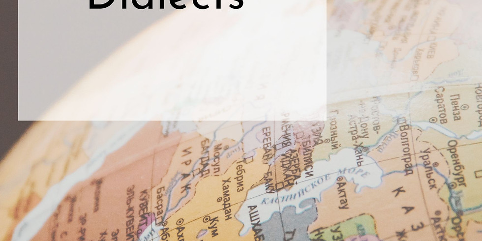 Accents & Dialects, Fall 2019