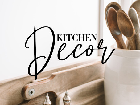 Kitchen Decor For The Win