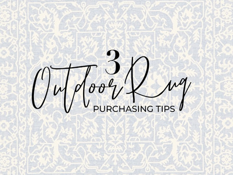3 Tips to Purchasing an Outdoor Rug
