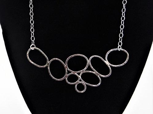 """Pebbles 4"" pendant"