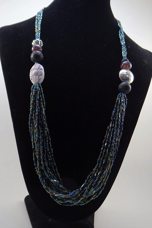 """Falling Water"" necklace"