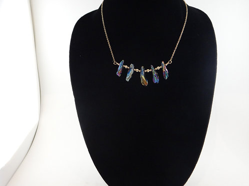 Rainbow Fire Necklace 2