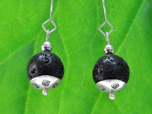 Lava earrings - 1