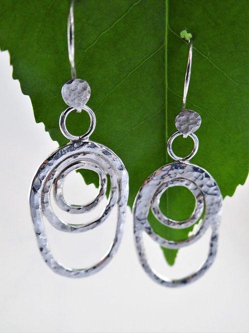 """Pebbles"" earrings"