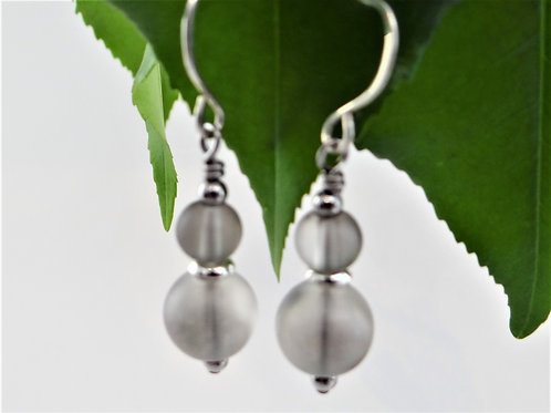 """Smokey Mountain"" Earrings"