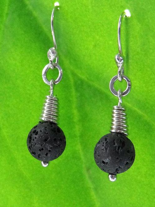 Lava earrings - 2