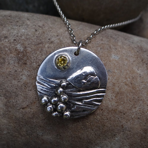 """Whyte Island"" pendant"