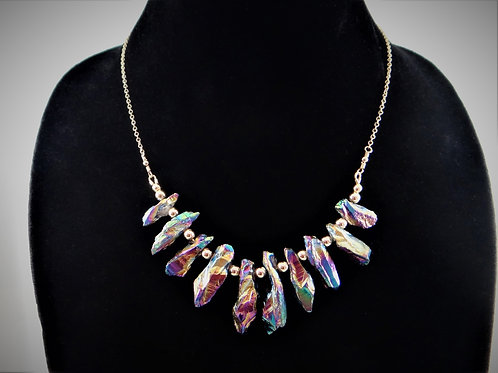 Rainbow Fire Necklace 4