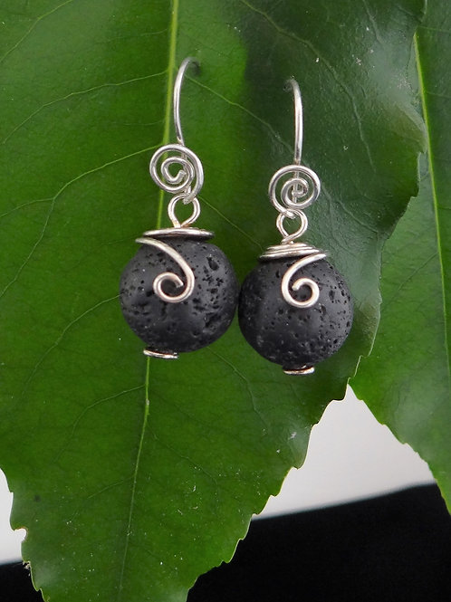 Lava earrings - 4