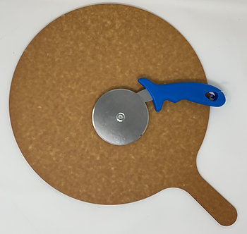 Laminated Board and Pizza Cutter