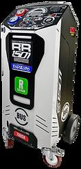Stazione ricarica clima climatizzatore RR1501 Bus R134 HFO1234YF