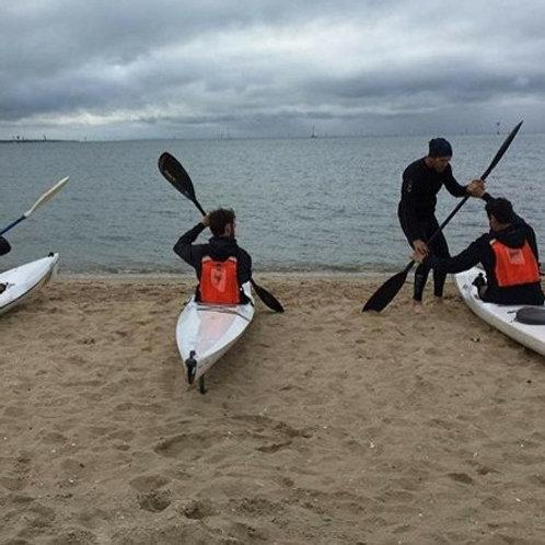 Peak Adventure Ocean or Bay Kayak Training Program