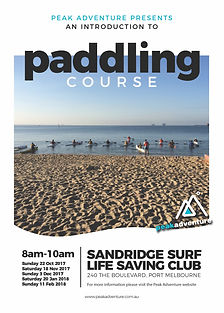 Peak Adventure Introduction to Paddling Course