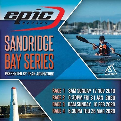 Sandridge Bay Series Kayak Hire 2020